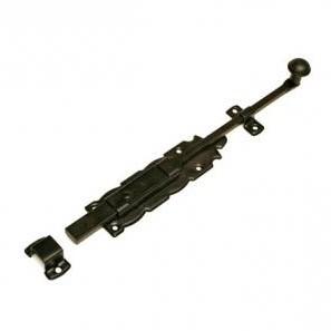 Задвижка Amig черная мод.411 250 мм.