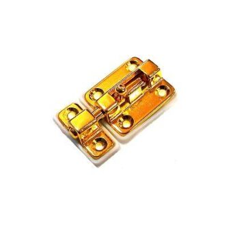 Шпингалет Аллюр G-025S (золото)
