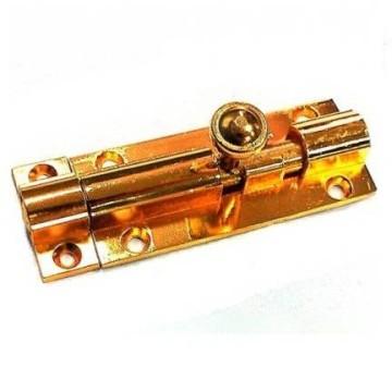 Шпингалет Лида 70 мм. (золото)