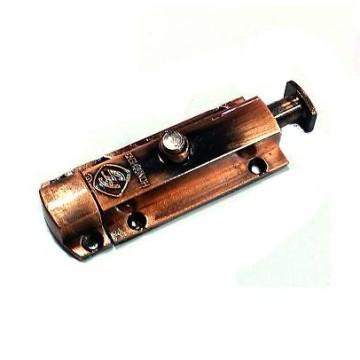 Шпингалет кнопка 55 мм. (медь)