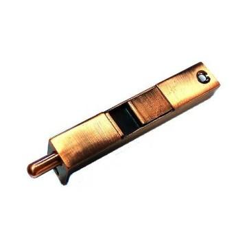 Шпингалет торцевой 01-41 (медь)