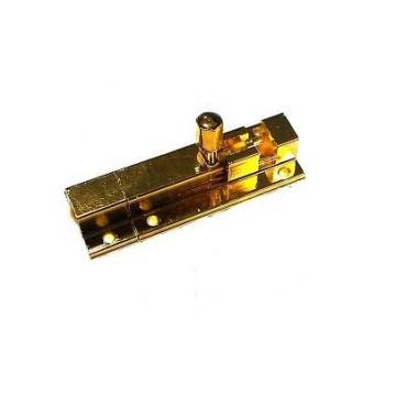 Шпингалет Nora-M 501-60-G (золото)