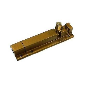Шпингалет Nora-M 501-80-G (золото)