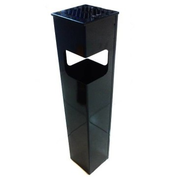 Урна Квадрат 2 (черная)
