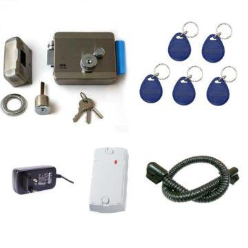 Комплект №1 (Электромеханичеcкий замок+брелоки RFID)