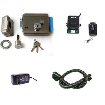 Комплект №2 (Электромеханический замок+радиобрелок)