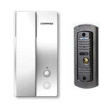 Аудиодомофон Activision AVC-105 (медь)+Commax DP-2S (белый)