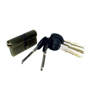 Мех. цилиндр Imperial бронза кл/кл (30х30)
