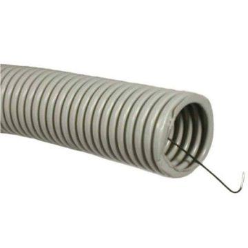 Труба гофрированная с зондом 20 мм., гибкая со стальной протяжкой