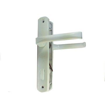 Ручка на планке CK-85 мм. (белая)