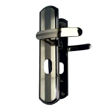 Ручка на планке для двери Форпост Palladium РД 40 L (левые) полоски