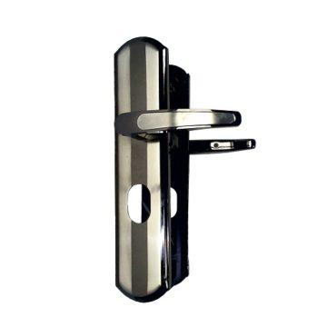 Ручка на планке для двери Форпост 211L автомат с подсветкой