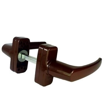 Ручка оконная подпруж. BHS 4 (42) (коричневая) В
