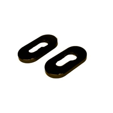 Накладки на цилиндр пластик (коричневые)
