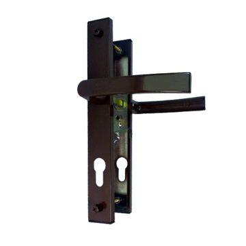 Ручка на планке CTH-1615-03 92 мм. (коричневая) В