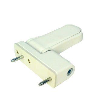 Петля дверная Fuaro NP-3D-105 PVC-WH (белая)