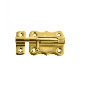 Шпингалет Nora-M 384 30 мм. (золото)