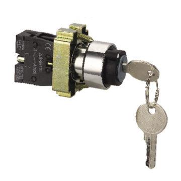 Переключатель энергия XB2-BG21 с ключом (No)
