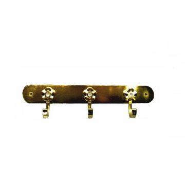 Крючки на планке мод. 304 (золото) (3 крючка)
