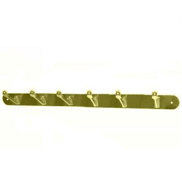 Крючки на планке KL-85 NO-6 AB (бронза)