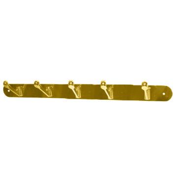 Крючки на планке KL-84 NO-5 AB (бронза)