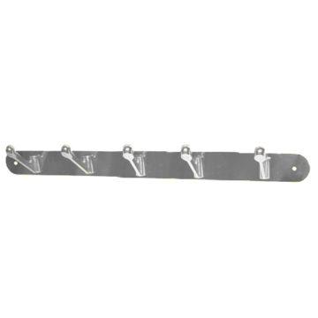 Крючки на планке KL-84 NO-5 CP (хром)