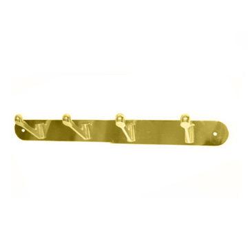 Крючки на планке KL-83 NO-4 PB (золото)
