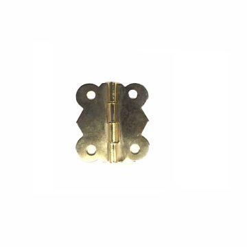 Петля для шкатулки фигурная 11х29 мм. (золото)