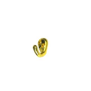 Крючок-вешалка №8 (золото)