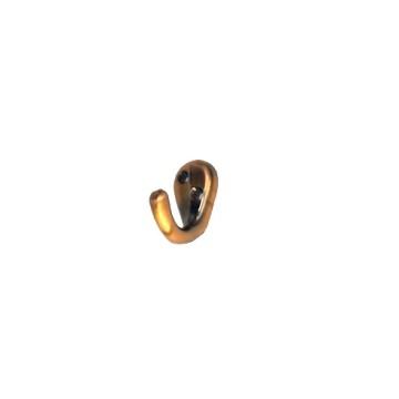 Крючок-вешалка №8 (старая медь)