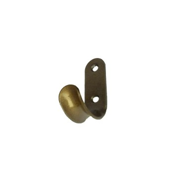 Крючок-вешалка КВ-01 (бронза)