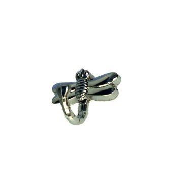 Крючок KL-202 (хром) стрекоза
