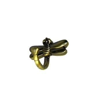 Крючок KL-202 (бронза) стрекоза