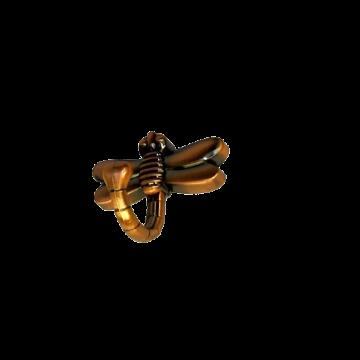 Крючок KL-202 (медь) стрекоза