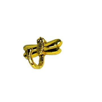 Крючок KL-202 (золото) стрекоза