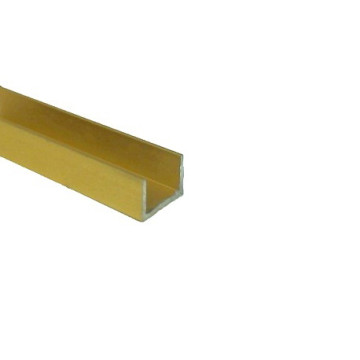 Направляющая нижняя 1 м. (золото)