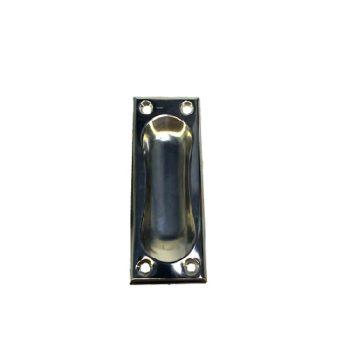 Ручка мебельная врезная 1-80х28 (никель)