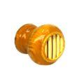 Ручка-кнопка деревянная классика лак светл. (золото) мал.