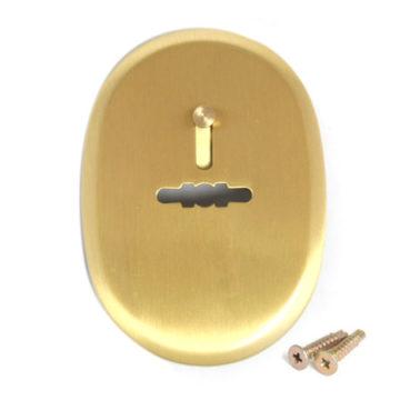 Накладка под сув. кл. Apecs DP-S-10-GM Shutter (мат.золото)