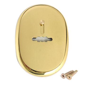Накладка под сув. кл. Apecs DP-S-10-G Shutter (золото)