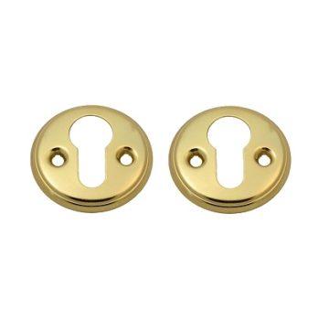 Накладка на цилиндр Nora-M для финских дверей (золото)