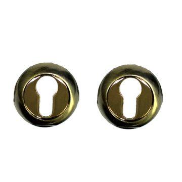 Накладка на цилиндр Casa de Bronces круг. (бронза/золото)