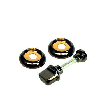 Фиксатор Casa de Bronces круг. (черный никель/золото)