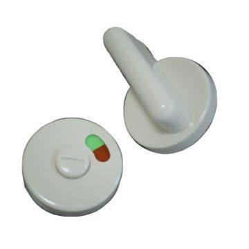 Фиксатор для туалета пластиковый (серый)