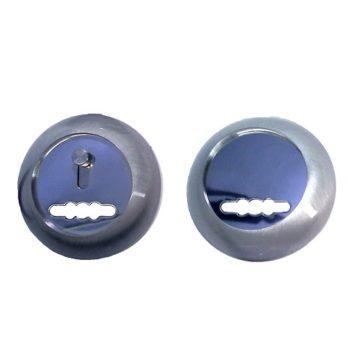 Накладка под сув. ключ Аллюр ZC-NS-A (серебро матовое)