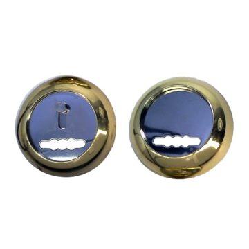 Накладка под сув. ключ Аллюр ZC-NS-P (золото полиров.)