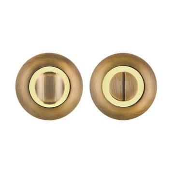 Фиксатор Fuaro BK6 RM AB/GP-7 (бронза/золото)