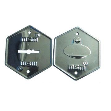 Накладка для замка MSM (хром)