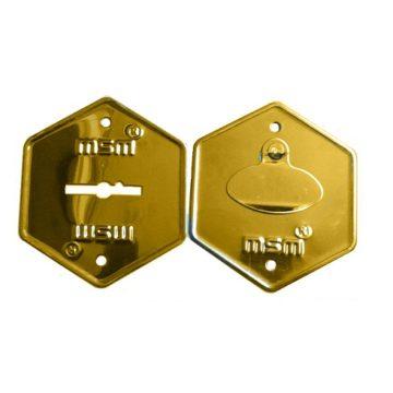 Накладка для замка MSM (золото)