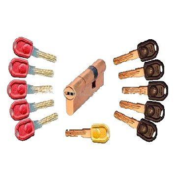 Мех. цилиндр Master-Lock кл/кл (65х35) 5+1+5 кл.